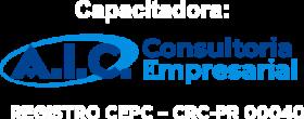Logo AIC CAPACITADORA - Branco - 400px